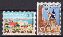 1967 - ALGERIA - Yv.  Nr. 444/445 - NH - (UP131.53) - Algeria (1962-...)