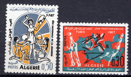 1967 - ALGERIA - Yv.  Nr. 451/452 - NH - (UP131.53) - Algeria (1962-...)