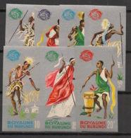 Burundi - 1965 - N°Mi. 183B à 189B - Exposition De New York - Non Dentelé / Imperf. - Neuf Luxe ** / MNH / Postfrisch - 1962-69: Ongebruikt