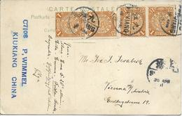 1900/1920 - Nunjing , Shanghai, Stempel Kiukiang , Gute Zustand, 2 Scan - Chine