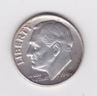 United States, 10c Roosevelt Dime, 1949, U.S.Mint Philadelphia - 1946-...: Roosevelt