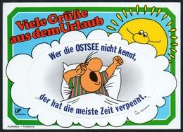 C4762 - TOP Ostsee - Auflkleber Ansichtskarte - Humor