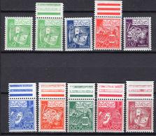 1964-65 - ALGERIA - Yv.  Nr. 390A+390A/391+393/399 - NH - (UP131.53) - Algeria (1962-...)