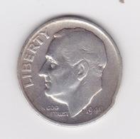 United States, 10c Roosevelt Dime, 1949-S, U.S.Mint San Francisco - Émissions Fédérales