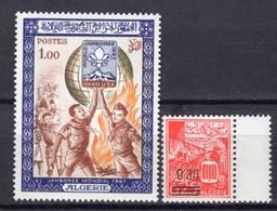 1967 - ALGERIA - Yv.  Nr. 458-459 - NH - (UP131.54) - Algeria (1962-...)