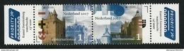 "HOLANDA/ NEDERLAND/ NIEDERLANDE -  EUROPA-CEPT 2017 - ""CASTILLOS- CASTLES - CHATEAUX"".- SERIE De 2 V. N - 2017"