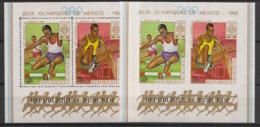 Burundi - 1968 - N°Mi. Bloc 29 + 29B - JO Mexico / Olympics - Neuf Luxe ** / MNH / Postfrisch - 1962-69: Ongebruikt