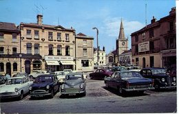 WILTS - CHIPPENHAM - MARKET PLACE AND PARISH CHURCH 1964  Wi334 - England