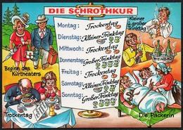 C4765 - Scherzkarte Humor - Kur - Wolfgang Hans Klocke Verlag - Humor
