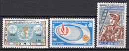 1968 - ALGERIA - Yv.  Nr. 467+468+469 - NH - (UP131.54) - Algeria (1962-...)