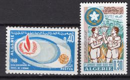 1968 - ALGERIA - Yv.  Nr. 468+473 - NH - (UP131.54) - Algeria (1962-...)
