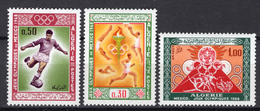 1968 - ALGERIA - Yv.  Nr. 474/476 - NH - (UP131.54) - Algeria (1962-...)