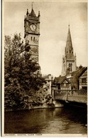 WILTS - SALISBURY - HOSPITAL CLOCK TOWER Wi336 - Salisbury