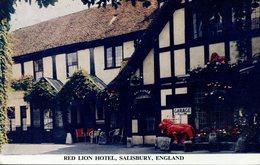WILTS - SALISBURY - RED LION HOTEL Wi339 - Salisbury