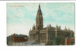 CPA - Carte Postale Royaume Uni - Portsmouth - Town Hall VM2448 - Portsmouth