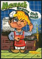 C4772 - TOP Scherzkarte Humor - Koch Chefkoch - Humor