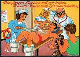 C4774 - Scherzkarte Humor - Kur - Wolfgang Hans Klocke Verlag - Humor