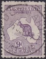 Australia         .   SG      .    10      .   O      .   Cancelled  .   /    . Gebruikt - 1913-48 Kangaroos