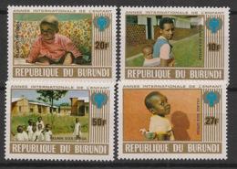 Burundi - 1979 - N°Mi. 1497 à 1500 - Année De L'enfant - Neuf Luxe ** / MNH / Postfrisch - Burundi