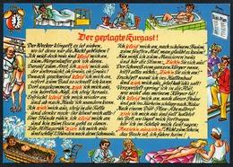 C4775 - TOP Scherzkarte Humor - Kur - Wolfgang Hans Klocke Verlag - Humor