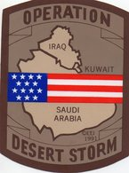 "Autocollant Militaria "" Opération Desert Storm "" - Militaria"