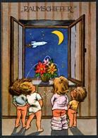 C4778 - Orig. Funny Card - Scherzkarte Humor - Raumschiff Schiffer - Krüger - Humor