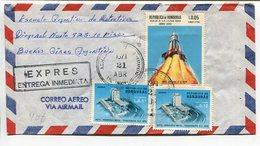 ENVELOPE CIRCULATED HONDURAS TO ARGENTINA, YEAR 1971, AIR MAIL CORREO AEREO, EXPRES ENTREGA INMEDIATA - LILHU - Honduras