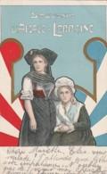 ***  Souvenir D'Alsace Lorraine - Par Illustrateur TTB Précurseur Timbrée - Patriotiques