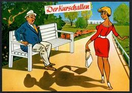 C4782 - TOP Scherzkarte Humor - Kur Kurschatten Erotik - Humor