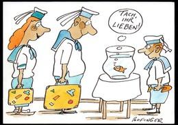 C4785 - TOP Bofinger Scherzkarte Humor - Matrose - Cartoon - Humor