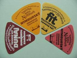 Etiquettes Fromage Fondu - NYMBURK - 4 Portions Nymbursky.Fit.Dunaj - Tchéquie   A Voir ! - Quesos