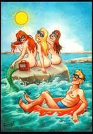 C4787 - Scherzkarte Humor - Erotik Nixen - Humor