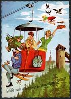 C4788 - TOP Scherzkarte Humor - Braunlage Wurmberg Drahtseilbahn - Lederbogen Elite Color - Humor