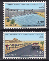 1969 - ALGERIA - Yv.  Nr. 488/489 - NH - (UP131.54) - Algeria (1962-...)