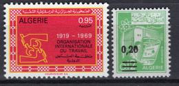 1969 - ALGERIA - Yv.  Nr. 493/494 - NH - (UP131.54) - Algeria (1962-...)