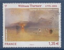 = William Turner, La Plage De Calais à Marée Basse, N°4438 Oblitéré - France