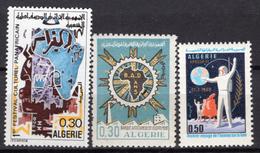 1969 - ALGERIA - Yv.  Nr. 498/500 - NH - (UP131.54) - Algeria (1962-...)