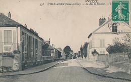 95) L'ISLE-ADAM : La Rue De Pontoise (1912) - L'Isle Adam
