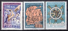 1969 - ALGERIA - Yv.  Nr. 499+501/502 - NH - (UP131.54) - Algeria (1962-...)