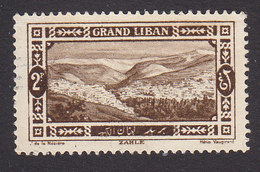 Lebanon, Scott #57, Mint No Gum, View Of Beirut, Issued 1925 - Great Lebanon (1924-1945)