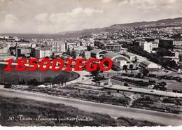 TRIESTE - PANORAMA QUARTIERE FIERISTICO   F/GRANDE VIAGGIATA 1957 - Trieste