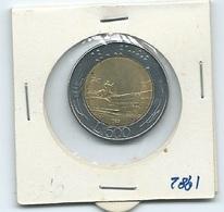 MN108  ITALIA 1982   L.500 Bicolore - 1946-… : Repubblica