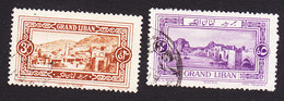 Lebanon, Scott #59-60, Used, Scenes Of Lebanon, Issued 1925 - Great Lebanon (1924-1945)