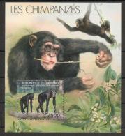 Burundi - 2012 - Bloc BF N°275 - Chimpanzés - Neuf Luxe ** / MNH / Postfrisch - Chimpanzés