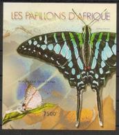 Burundi - 2012 - Bloc BF N°277 - Papillons - Non Dentelé / Imperf. - Neuf Luxe ** / MNH / Postfrisch - Papillons