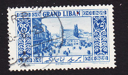 Lebanon, Scott #62, Used, Scenes Of Lebanon, Issued 1925 - Great Lebanon (1924-1945)