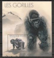 Burundi - 2012 - Bloc BF N°282 - Gorilles - Neuf Luxe ** / MNH / Postfrisch - Gorilles