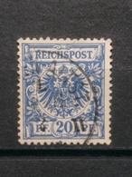 Deutsche Reich Mi-Nr. 48 B Gestempelt Geprüft - Oblitérés