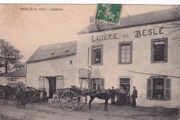 BESLE - Cp N & B - Ayant Voyagée - La Laiterie - Prix Départ 2.50 € Sans Réserve - Visitez Mes Autres Ventes -EF - Oudon