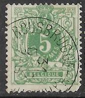 9W-948: ROUSBRUGGE-HARINGHE: N°45. E9 - 1869-1888 Lion Couché